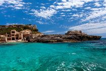 Mallorca - traumhafte Bucht von Jürgen Seibertz