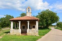 Kapelle Sv. Katarina bei Svetvincenat, Istrien, Kroatien by Mark Gassner