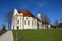 Allgäu: Wallfahrtskirche Wieskirche Steinegaden by Mark Gassner
