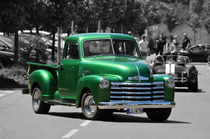 Chevrolet 3100 Pickup Truck, Colorkey by Mark Gassner