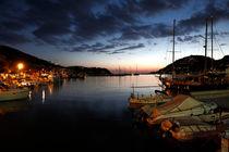 Mallorca - Andratx am Abend von Jürgen Seibertz