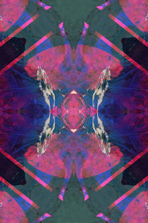 Psychedelic X-Ray pattern by Mihalis Athanasopoulos