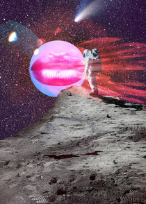 Astronaut kiss von Mihalis Athanasopoulos