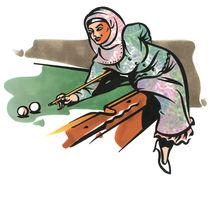 Hijab Snooker