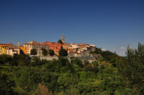 Blick auf Labin, Kroatien by Mark Gassner
