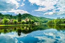 Walk along the river von Sandrine Vialacres