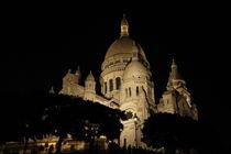 Sacre Coeur at Night von alina8