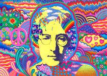 Imagine (Portrait John Lennon) von Christine Moje