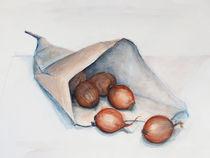 Stillleben - Vom Markt zurück von Heike Jäschke
