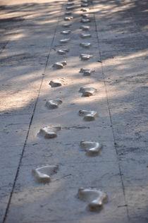 Footprints, Fußabdrücke by Mark Gassner