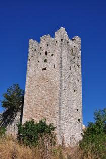 Dvigrad Turm, Istrien, Kroatien by Mark Gassner
