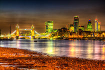 London at Night by David Pyatt