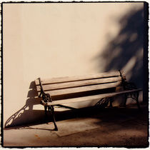 The Park Bench by Marcia Treiger