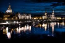 Skyline Dresden von pixelliebe