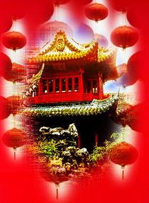 Shanghai Yu Yan Garden  von Walter Zettl