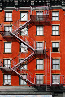 new york city ... fire escape by meleah