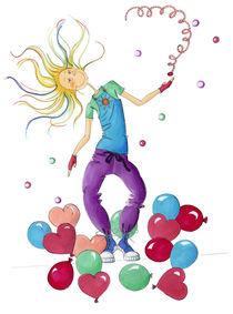 Ballon/Tanz feminina von Monika Blank-Terporten