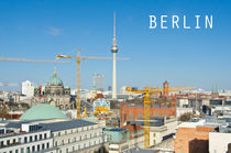 Der Berliner Fernsehturm - Panorama by MaBu Photography