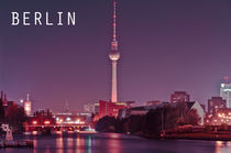 Berliner Fernsehturm von MaBu Photography