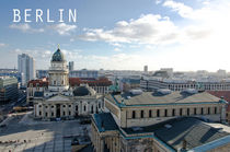 Der Gendarmenmarkt in Berlin - Panorama von MaBu Photography