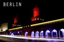 Die Oberbaumbrücke in Berlin von MaBu Photography