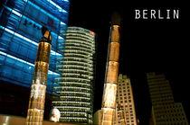 Potsdamer Platz bei Nacht von MaBu Photography