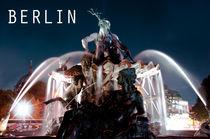 Der Neptunbrunnen am Alexanderplatz von MaBu Photography