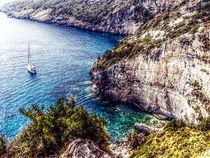 Bucht in Griechenland von Mike Huber