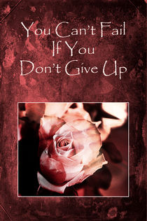 Don't Give Up von Randi Grace Nilsberg
