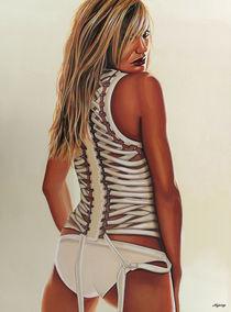Cameron Diaz painting von Paul Meijering