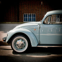 Classic Volkswagen Beetle, London by Moorstone Images