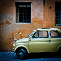 Classically Italian Fiat 500 Cinquecento by Moorstone Images