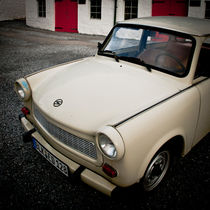 Classically East German Trabant Car by Moorstone Images