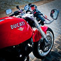 Classically Italian Ducati Motorcycle von Moorstone Images