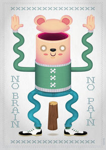 No Brain, No Pain von Thomas Hollnack