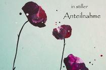 in stiller Anteilnahme Flowers 3 by yannick-leniger-art-design