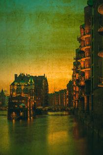 Speicherstadt Hamburg - Blick aufs Fleetschlösschen by Thomas Ulbricht
