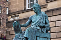 Statue of Hume by David Pringle