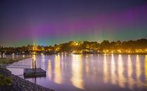 Polarlicht über Lauenburg by photoart-hartmann