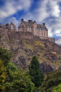 Edinburgh Castle by David Pringle