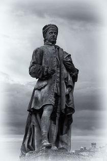 Allan Ramsay Statue von David Pringle