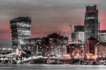 City of London at night von David Pyatt