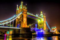Tower Bridge Opening by David Pyatt