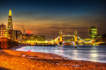 London Night View by David Pyatt