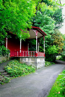 Bandstand on Lover's Walk, Matlock Bath by Rod Johnson