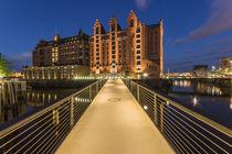 Brücke zum Maritimen Museum by Jan Adenbeck