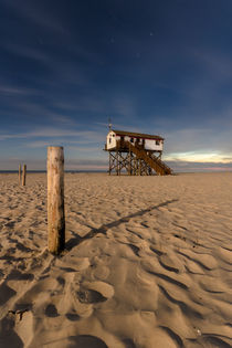 Geisterstunde in Sankt Peter Ording by Jan Adenbeck