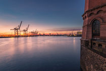 Container Terminal Tollerort by Jan Adenbeck