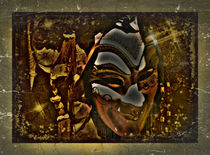 Venezianische Karnevalsmaske 2 von Roland H. Palm