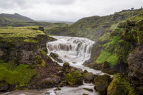 iceland water fall by moxface